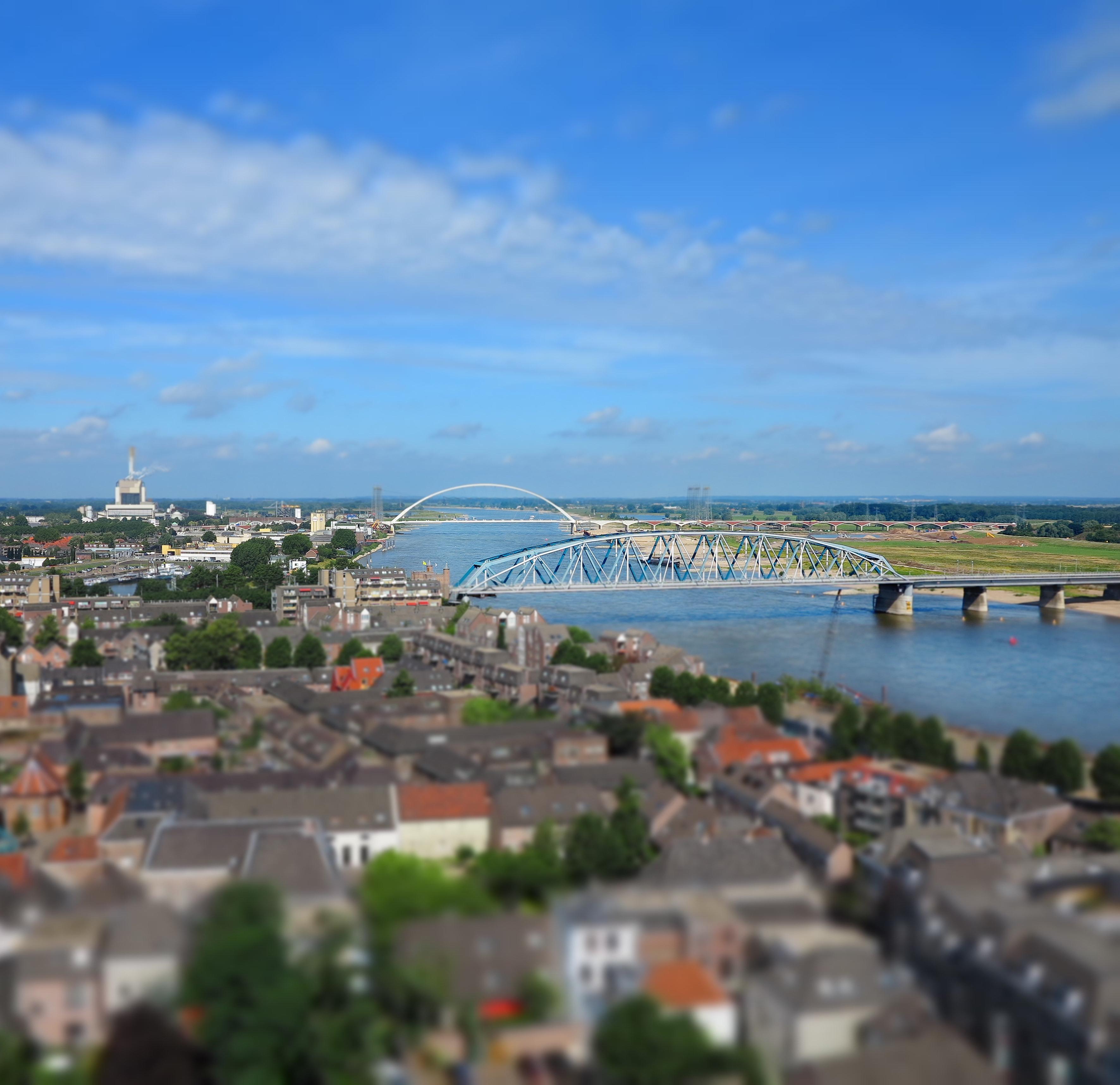 Nijmegen luchtfoto