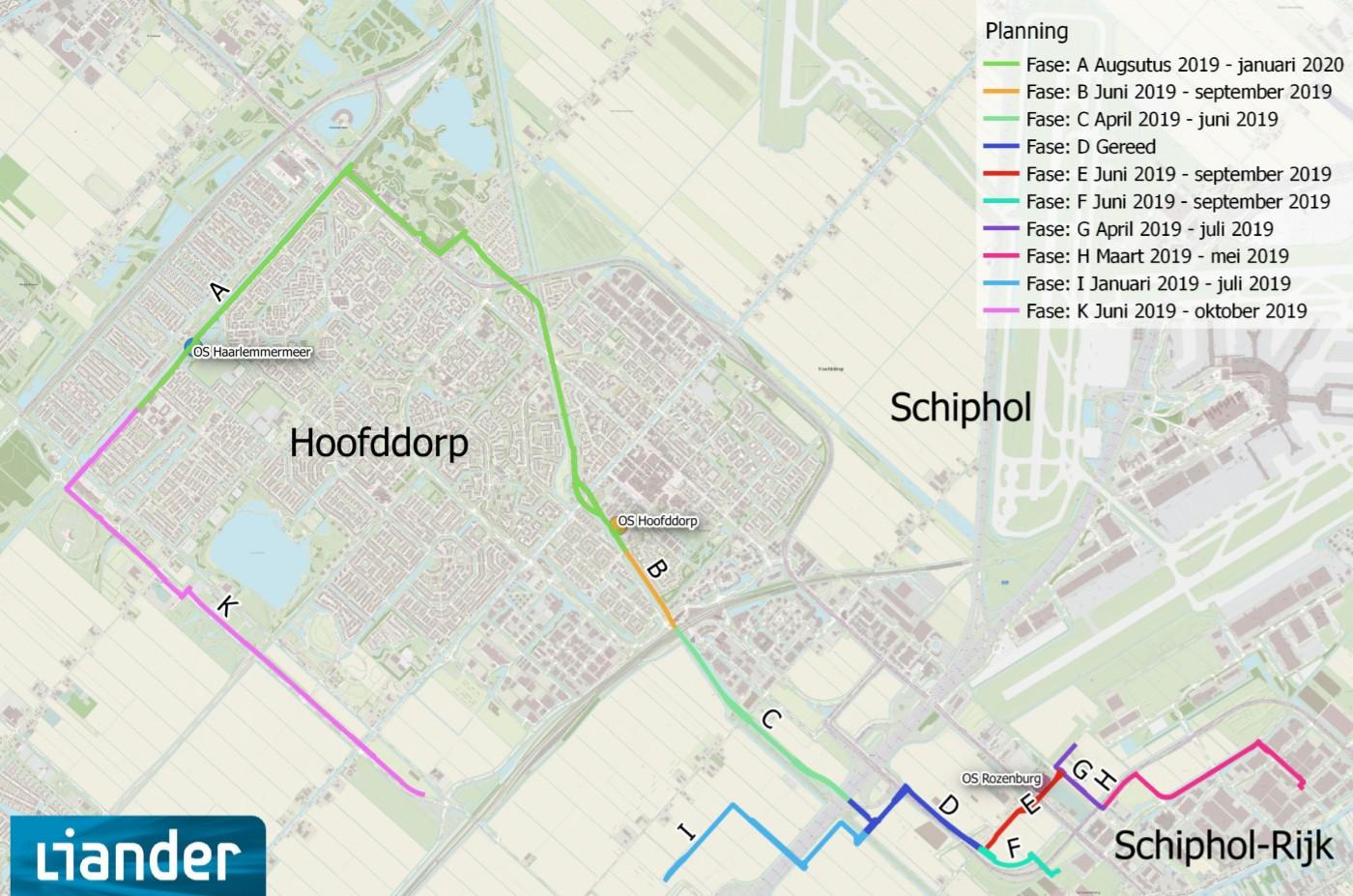 Werkzaamheden Haarlemmermeer