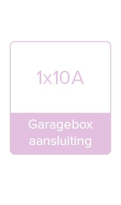 Garagebox aansluiting