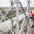 Sensor waarschuwt lijnwerker in hoogspanningsmast