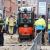 Gewonden bij werkzaamheden Hasebroekstraat