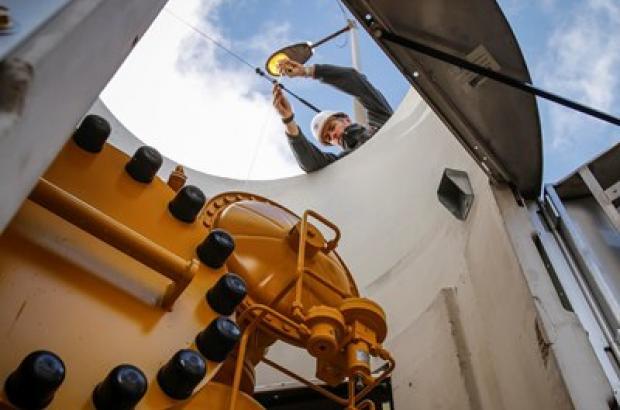 Gasverdeelstation peperbus
