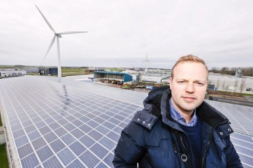 Westra Franeker cablepooling zon en wind op 1 aansluiting