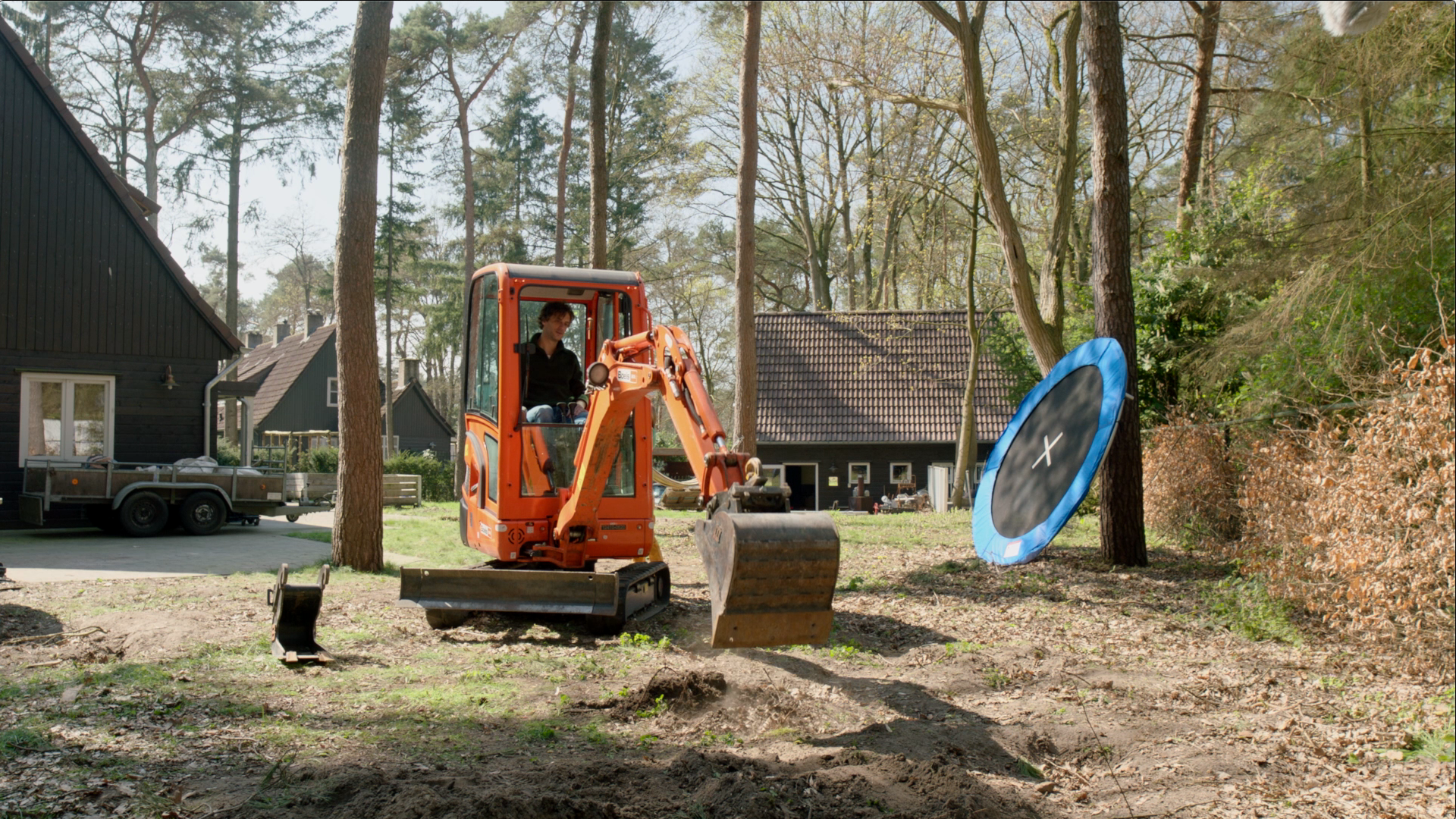 Veilig graven met graafmachine - Liander